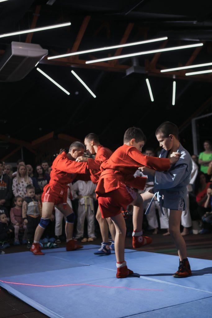 Фото с занятий Самбо в СК Прайд